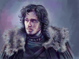 Jon Snow by Vogelspinne
