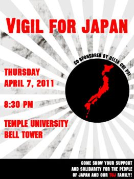 Vigil for Japan by PSiDesign