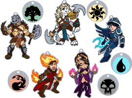 Chibi PlanesWalkers by RuntyTiger
