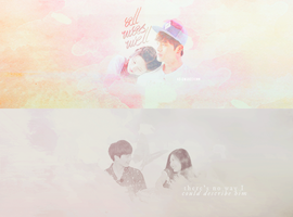Sungjae and Joy (We Got Married) by acciosuji