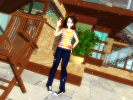 DL - MMD Newcomer Yellow-Phoenix by Yellow-Phoenix
