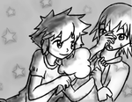 Secret Crush: Picture of Sora and Riku by BlueDressWonder