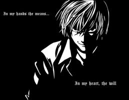 Light Yagami by theUltimateDemise