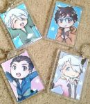 Yuri On Ice Key Ring Charms by Red-Baby