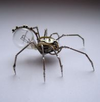 Clockwork Spider No 48 (II) by AMechanicalMind
