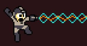 Pixel Mega-Ghostbuster by Andry-Shango