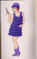 Flapper by the-punk-hippie