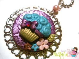 Delicate Cupcake Medallion by colourful-blossom