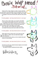 Basic Wolf Head Tutorial 1 by Tebyx