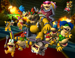 The Koopa Family by sonictoast