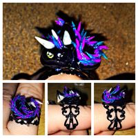 Spikey Dragon Ring by LittleCLUUs