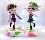 Commission- Splatoon Squid Sisters Figure by Tsurera
