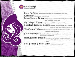 Ever After High - Brooke Page's Full Bio v2.5 by cjlou-the-bejeweler