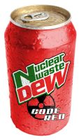 Nuclear Waste Dew Code Red by Syclown