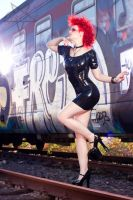 Latex Train 01 by GuldorPhotography