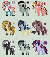 Pony Adopts by ghostiibear