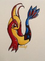 Milotic by nevermelticecube