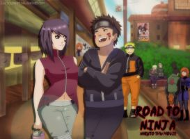 Road to ninja Naruto by lazycreator