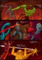 TLIID - Superman and Hellboy by Nick-Perks