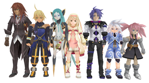 MMD Newcomers - Rigged Tales of Symphonia DOWNLOAD by Kitsuna020