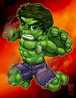 Speed Vector - Lil Hulk by lordmesa