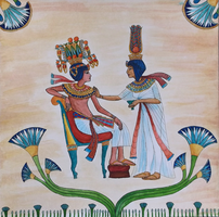 Tutankhamun and His Queen by MyWorld1
