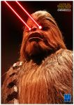 Chewbacca with Lasers by SubDooM