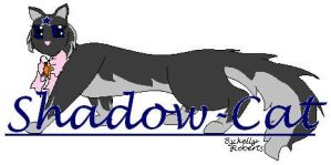 shadow cat logo by KellyVenus