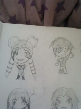 death chibi 7 and 8 by HinaFanBoy186