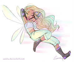 She's a Chill Fairy by vasira
