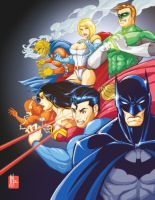 DC: JLA by artofJEPROX