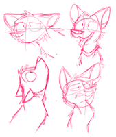 Sketches of expressions by Fuzzydice07