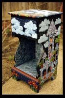 Enchanted Castle Nightstand by ReincarnationsDotCom