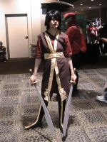 Zuko Cosplay by Zombie-Necromancer23