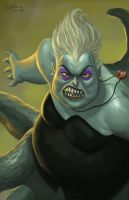 CGpintor disney villain by sibuloy