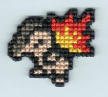 Cyndaquil by StitchPlease
