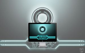 TRON LEGACY - The Disc by the-ashurian
