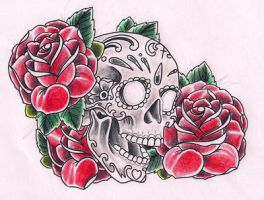 Sugarskull color by Kirzten