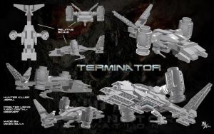 Lego - T2 Hunter Killer by Stitchfan