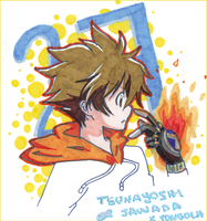 tsuna sketch by irask