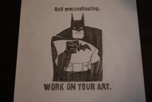 a word from batman by greckels