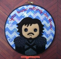You Know Nothing, Jon Snow by iggystarpup