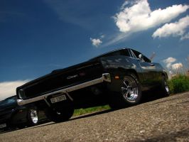 black Charger II by AmericanMuscle