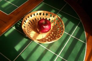 Photography: Full Colour Apple by AWLNorris