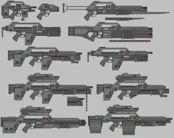 M-Series Firearms by Silveressa