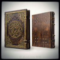 Labyrinth journal, 11 x 14 inches... by alexlibris999