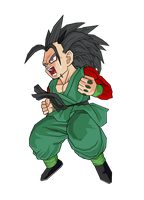 Xicor Jr SSJ4 by GokuGarlic