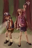 Pines Twins by sisaat