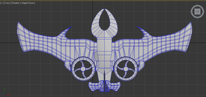 Stalker Vtol Fighter - WIP by Gizoozaa