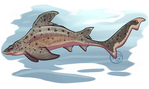 Shark Week 2013 - Spotted Gully Shark by tea-tiger